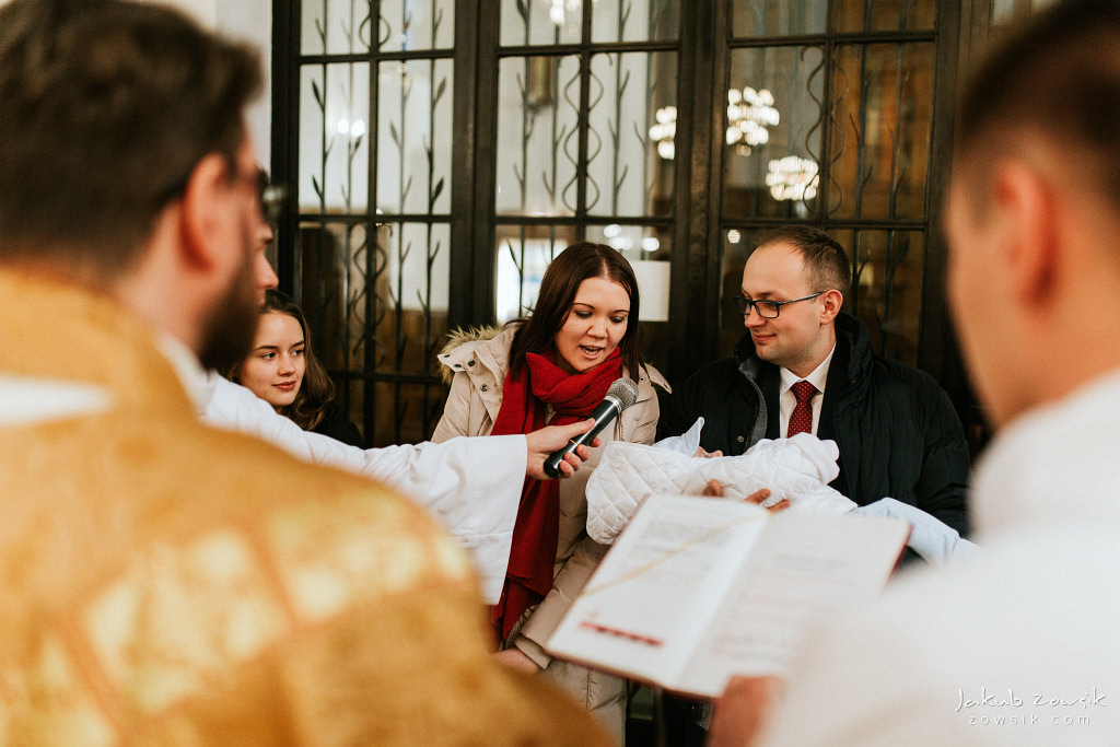 Antoś | Zdjęcia z chrzcin w Boże Narodzenie | Warszawa, Włochy 37