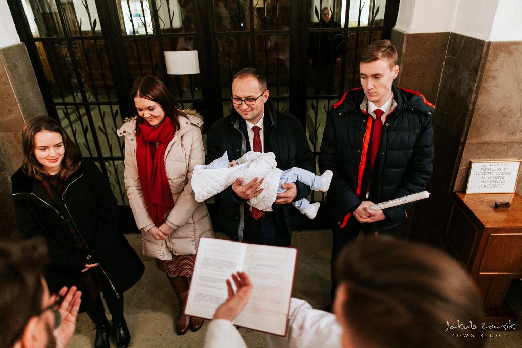 Antoś | Zdjęcia z chrzcin w Boże Narodzenie | Warszawa, Włochy 38