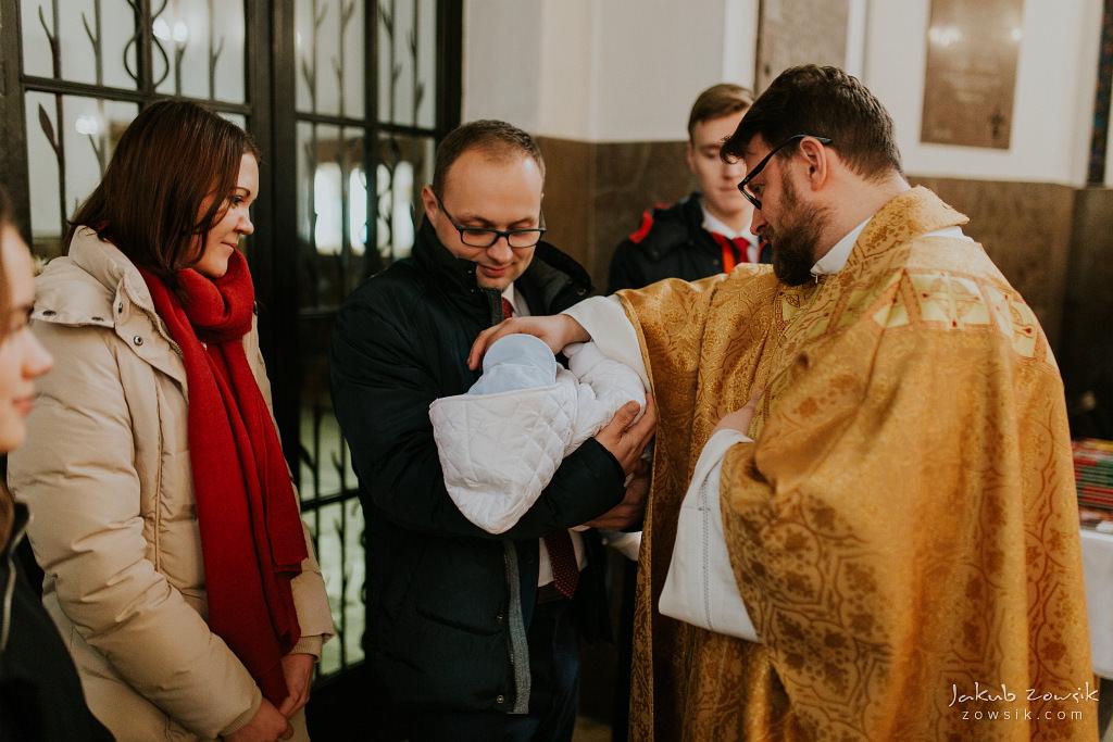 Antoś | Zdjęcia z chrzcin w Boże Narodzenie | Warszawa, Włochy 39