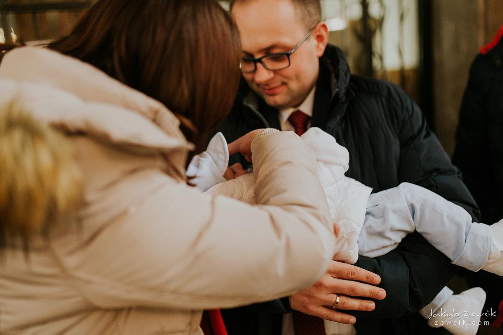Antoś | Zdjęcia z chrzcin w Boże Narodzenie | Warszawa, Włochy 40