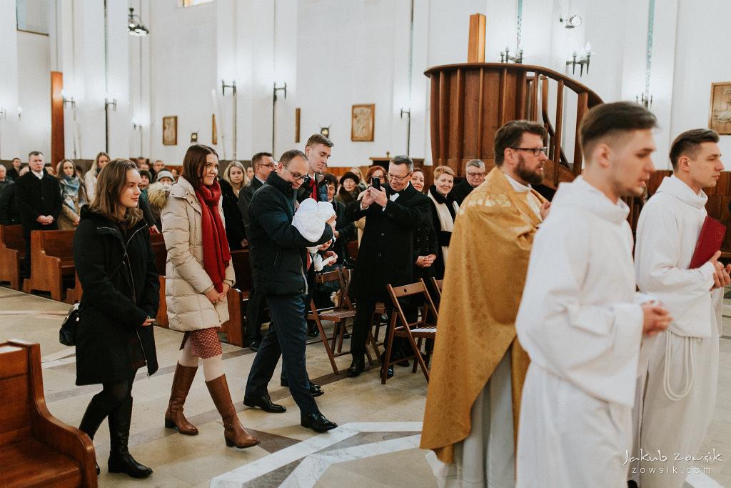 Antoś | Zdjęcia z chrzcin w Boże Narodzenie | Warszawa, Włochy 41