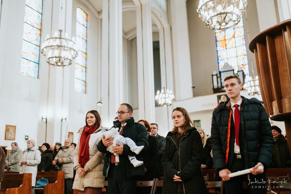 Antoś | Zdjęcia z chrzcin w Boże Narodzenie | Warszawa, Włochy 42