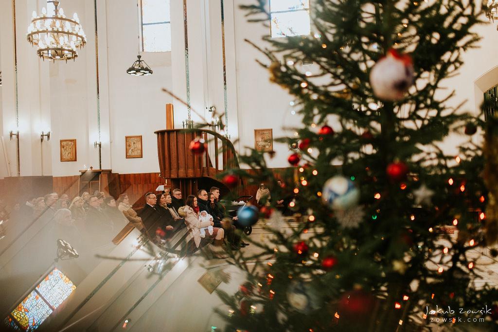 Antoś | Zdjęcia z chrzcin w Boże Narodzenie | Warszawa, Włochy 44