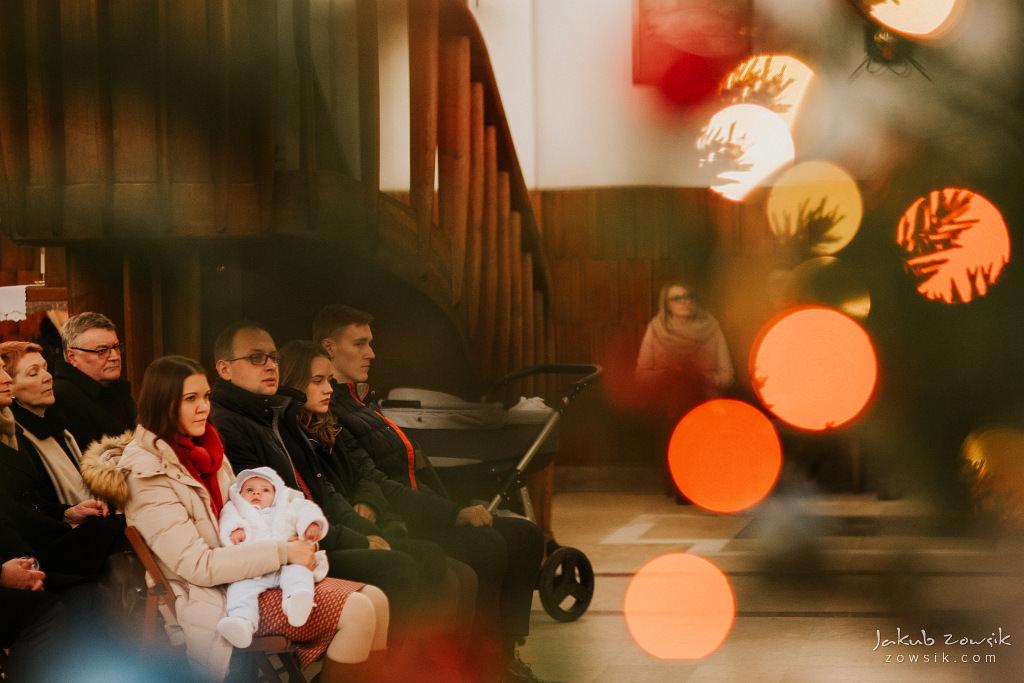 Antoś | Zdjęcia z chrzcin w Boże Narodzenie | Warszawa, Włochy 45