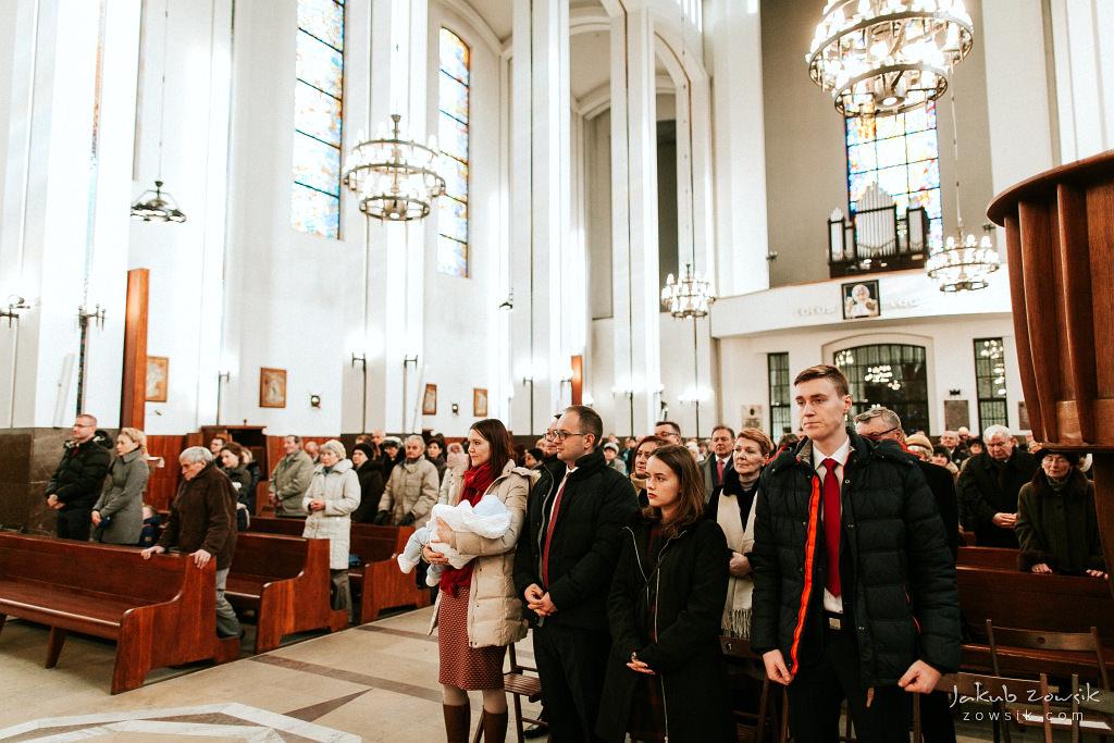 Antoś | Zdjęcia z chrzcin w Boże Narodzenie | Warszawa, Włochy 47