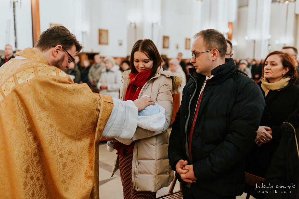 Antoś | Zdjęcia z chrzcin w Boże Narodzenie | Warszawa, Włochy 49