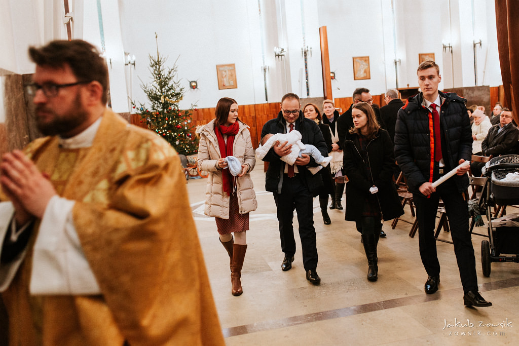 Antoś | Zdjęcia z chrzcin w Boże Narodzenie | Warszawa, Włochy 50