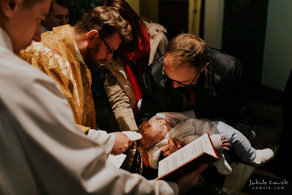 Antoś | Zdjęcia z chrzcin w Boże Narodzenie | Warszawa, Włochy 54