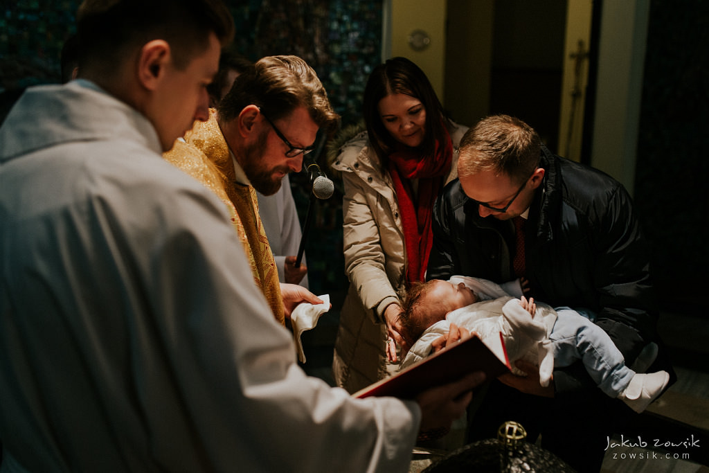 Antoś | Zdjęcia z chrzcin w Boże Narodzenie | Warszawa, Włochy 55