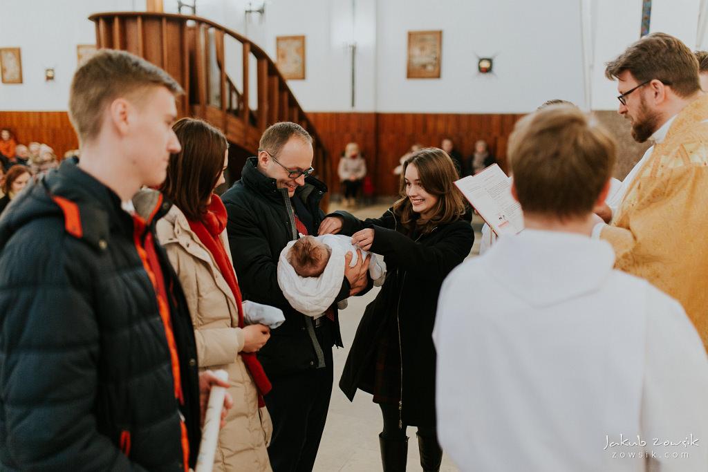 Antoś | Zdjęcia z chrzcin w Boże Narodzenie | Warszawa, Włochy 56