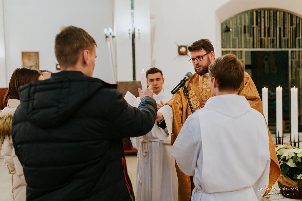 Antoś | Zdjęcia z chrzcin w Boże Narodzenie | Warszawa, Włochy 58