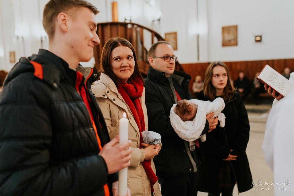 Antoś | Zdjęcia z chrzcin w Boże Narodzenie | Warszawa, Włochy 59