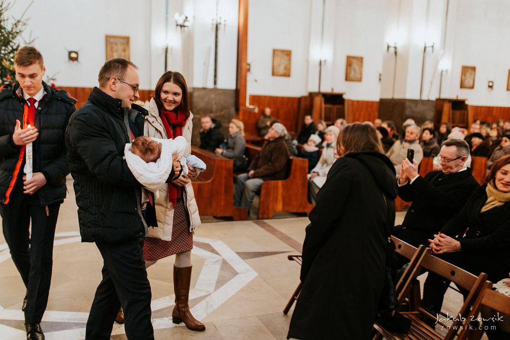 Antoś | Zdjęcia z chrzcin w Boże Narodzenie | Warszawa, Włochy 60