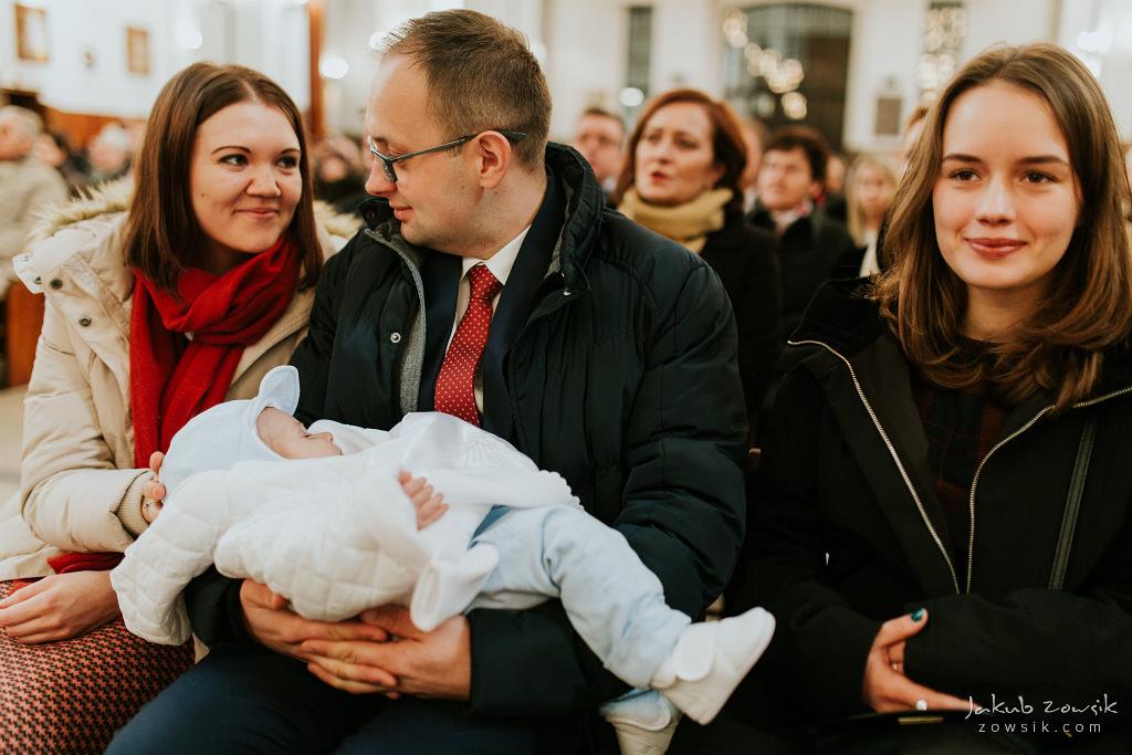 Antoś | Zdjęcia z chrzcin w Boże Narodzenie | Warszawa, Włochy 61