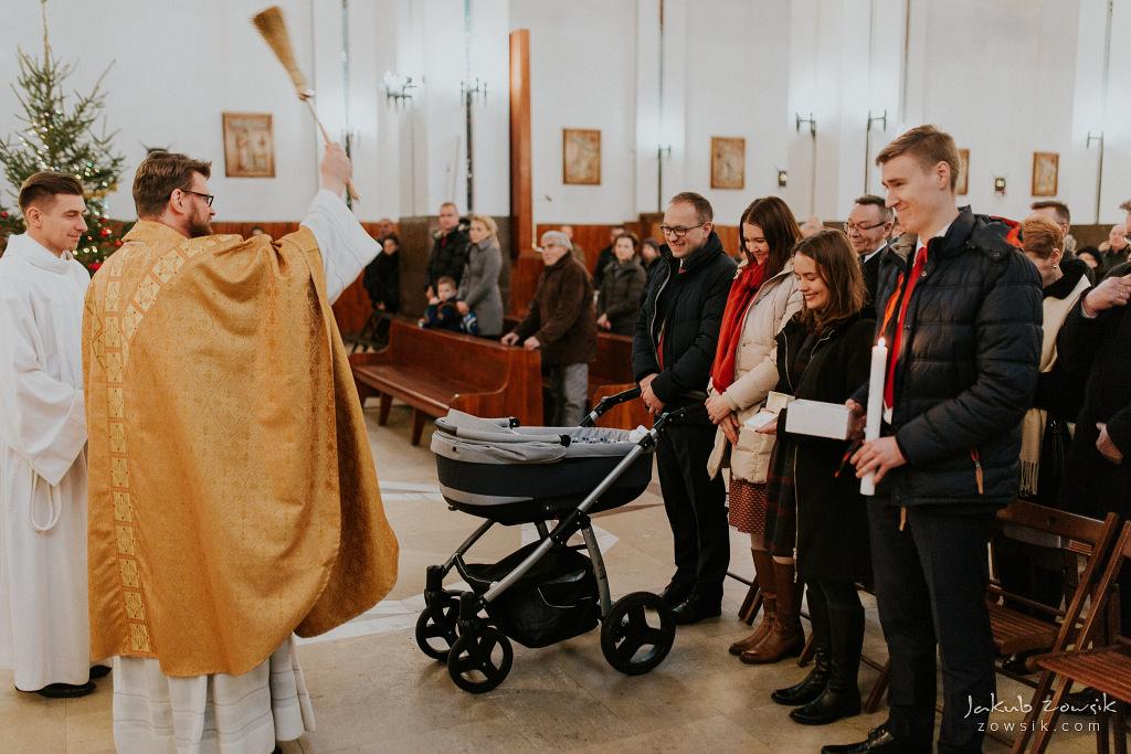 Antoś | Zdjęcia z chrzcin w Boże Narodzenie | Warszawa, Włochy 63