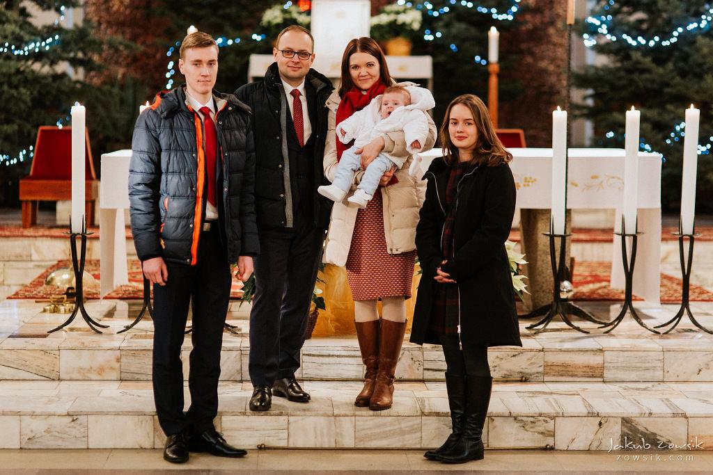 Antoś | Zdjęcia z chrzcin w Boże Narodzenie | Warszawa, Włochy 64