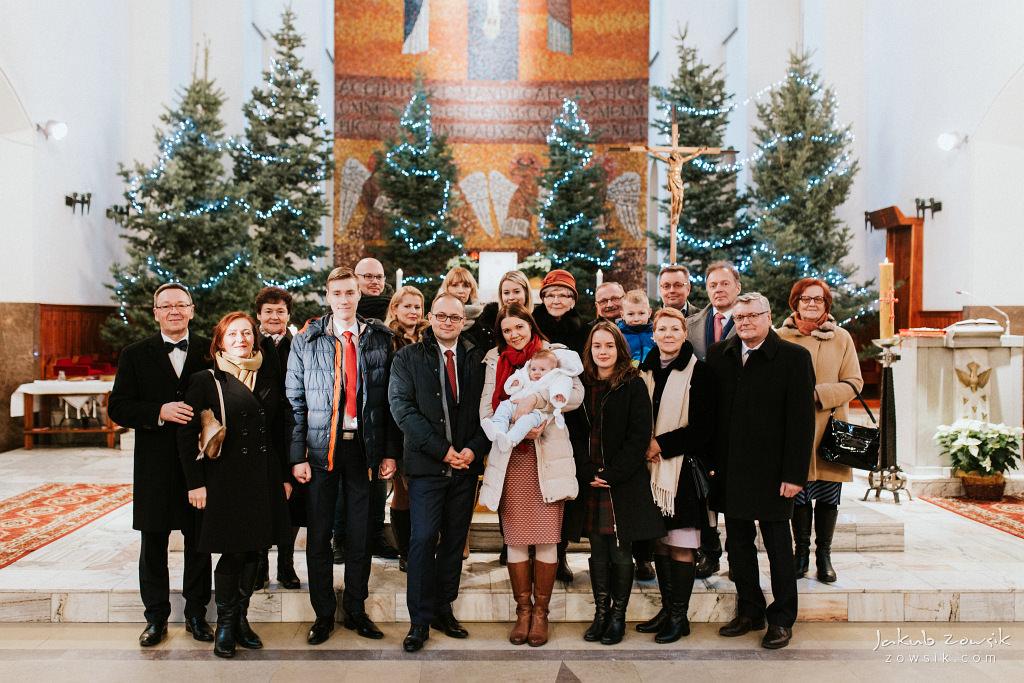 Antoś | Zdjęcia z chrzcin w Boże Narodzenie | Warszawa, Włochy 65