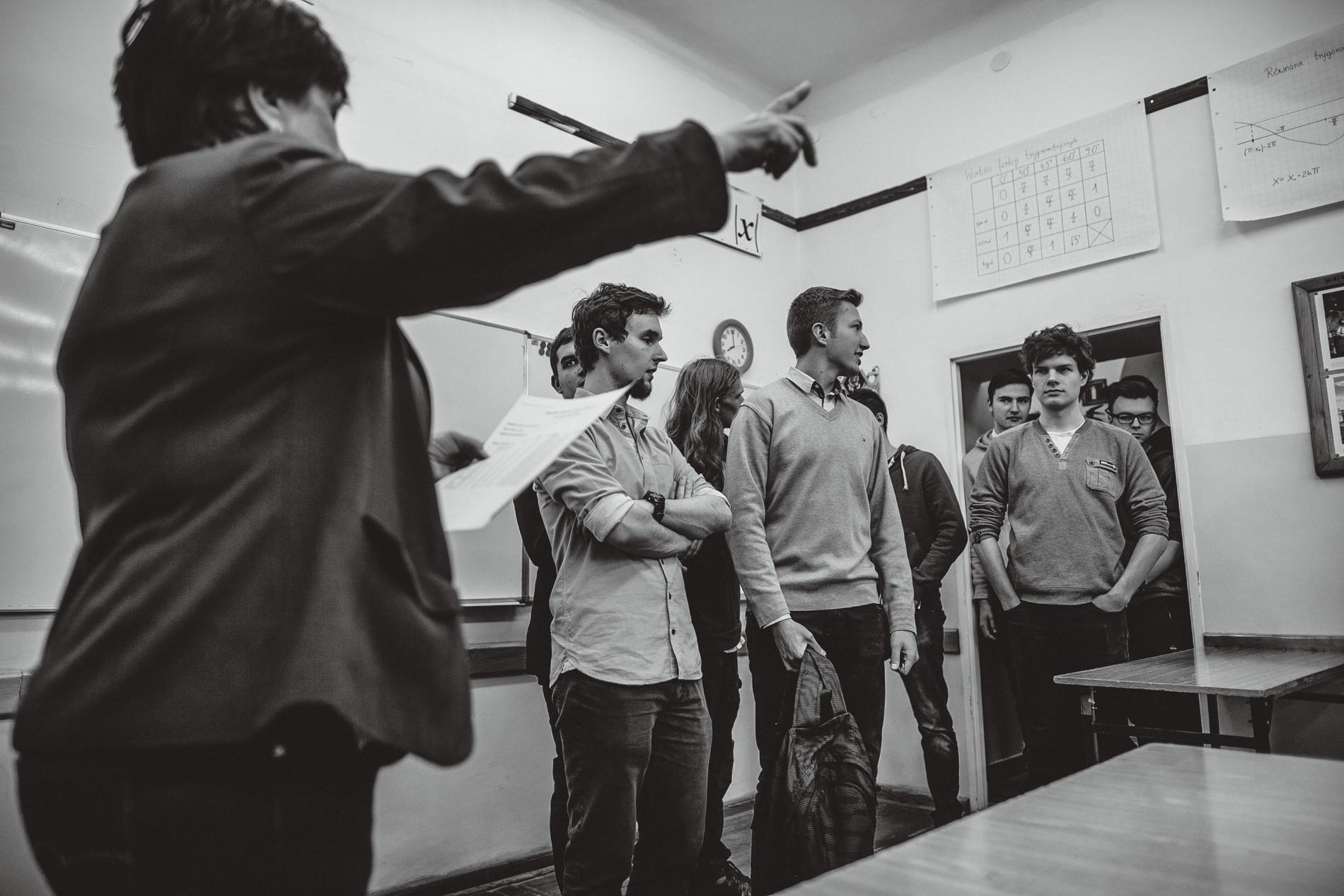 Próba matury w Technikum Mechatronicznym nr 1 i LXXX LO im. Leopolda Staffa | Warszawa 2018