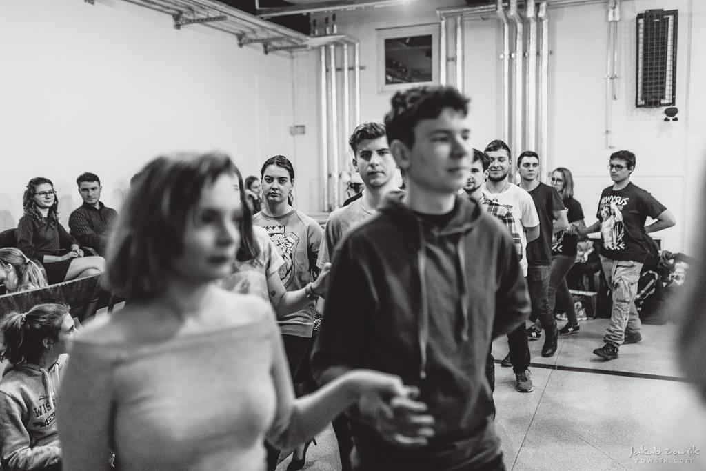 Próba poloneza w Zespole Szkół Licealnych i Technicznych nr 1, Wiśniowa 56 | Warszawa 2018 14