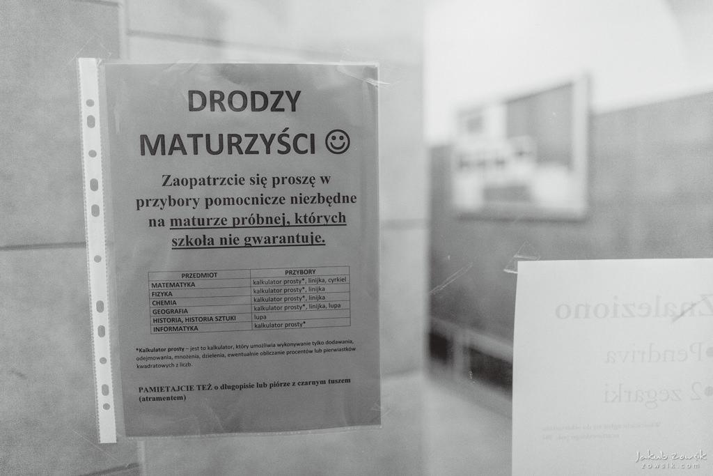 Próba matury w Technikum Mechatronicznym nr 1 i LXXX LO im. Leopolda Staffa | Warszawa 2018 12