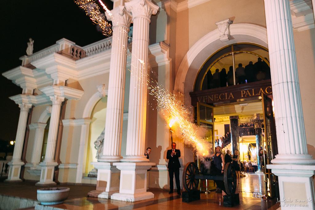 studniówka w hotelu Venecia Palace