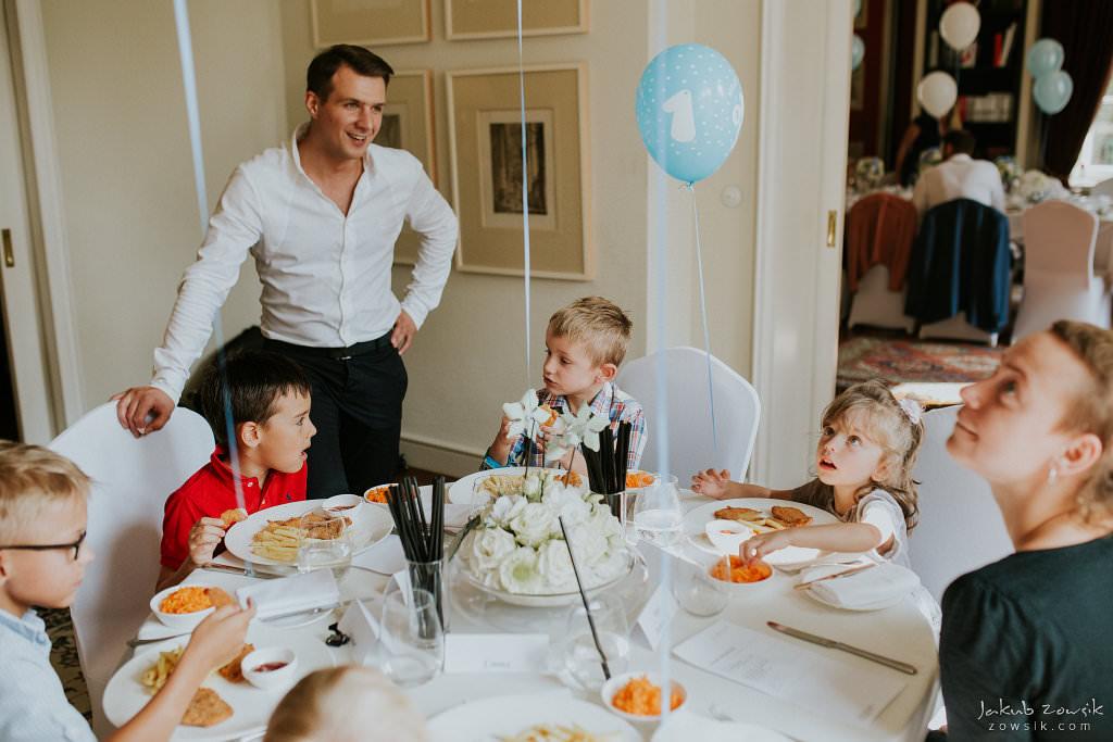 Przyjęcie z okazji 1 urodzin Milo | Amber Room | Warszawa 31