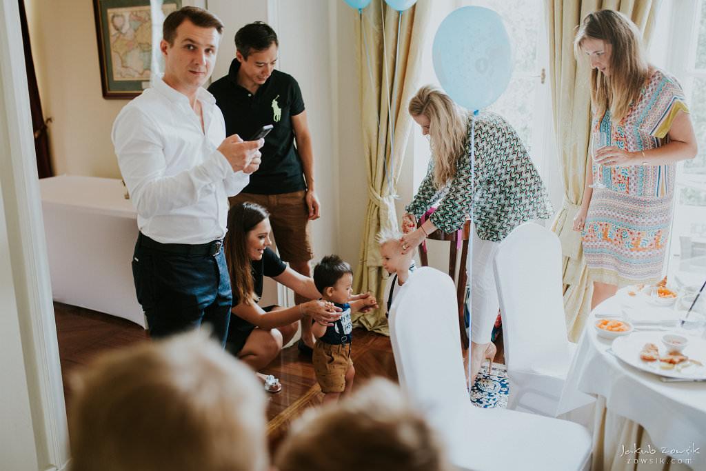Przyjęcie z okazji 1 urodzin Milo | Amber Room | Warszawa 35