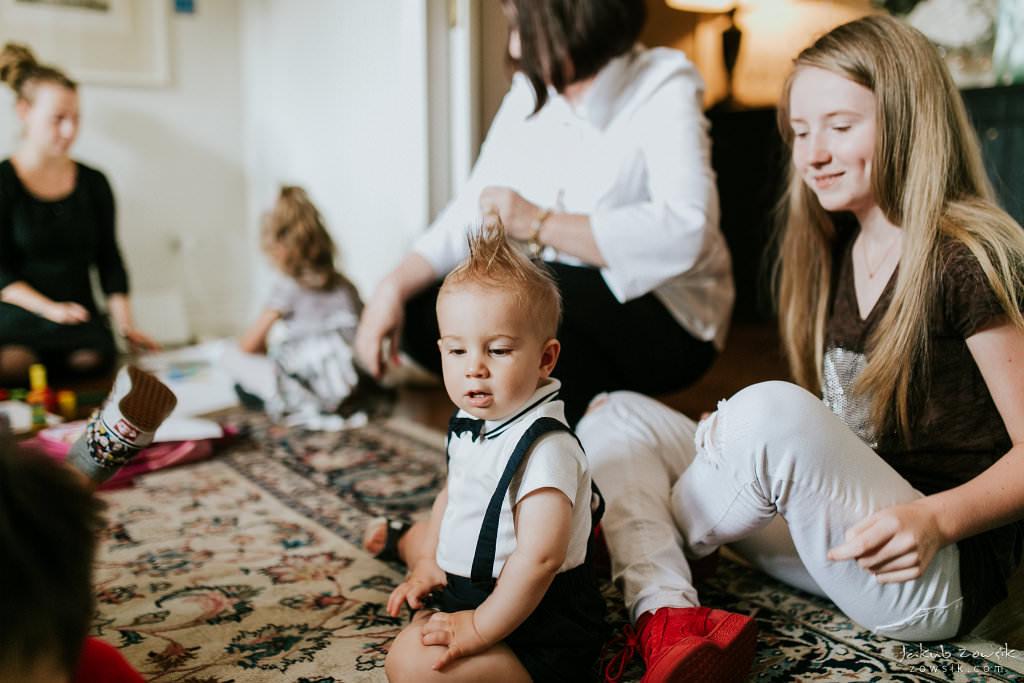 Przyjęcie z okazji 1 urodzin Milo | Amber Room | Warszawa 48