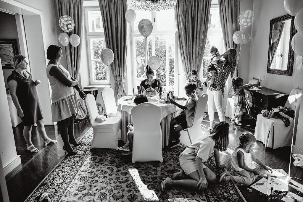 Przyjęcie z okazji 1 urodzin Milo | Amber Room | Warszawa 59
