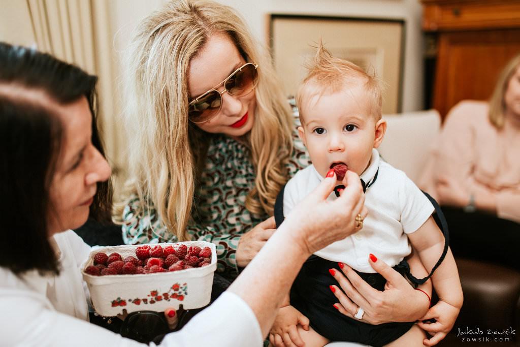Przyjęcie z okazji 1 urodzin Milo | Amber Room | Warszawa 85