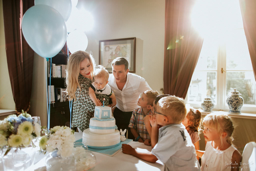 Przyjęcie z okazji 1 urodzin Milo | Amber Room | Warszawa 87