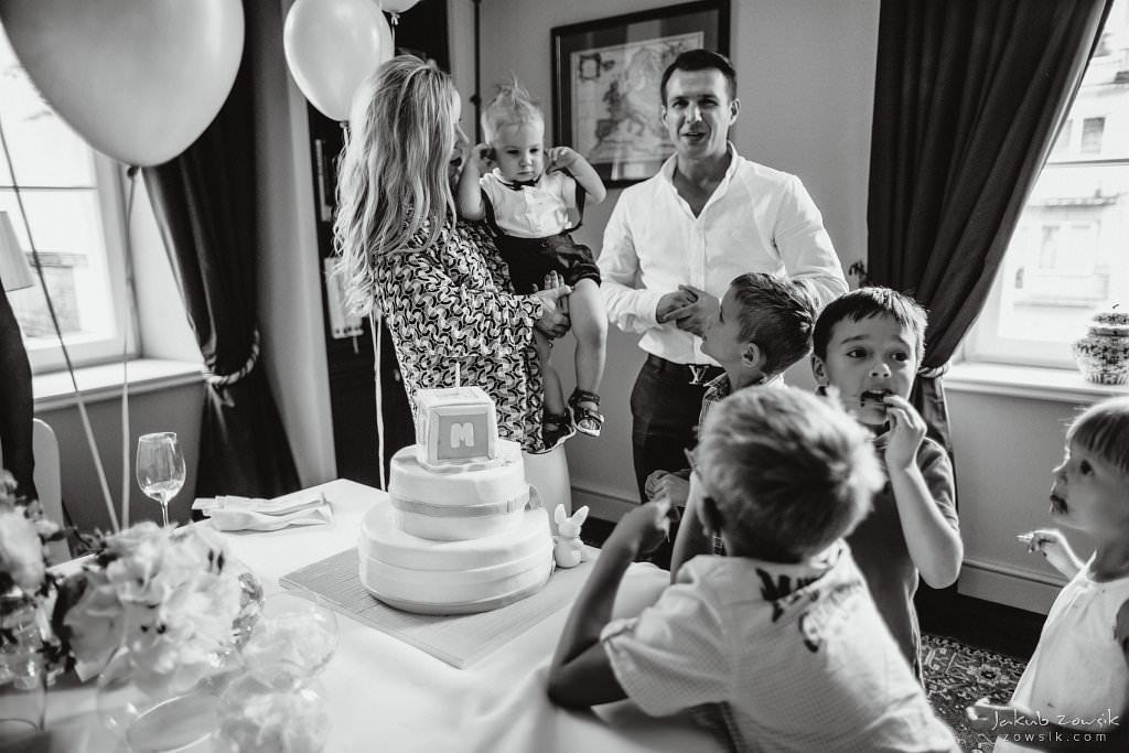 Przyjęcie z okazji 1 urodzin Milo | Amber Room | Warszawa 88