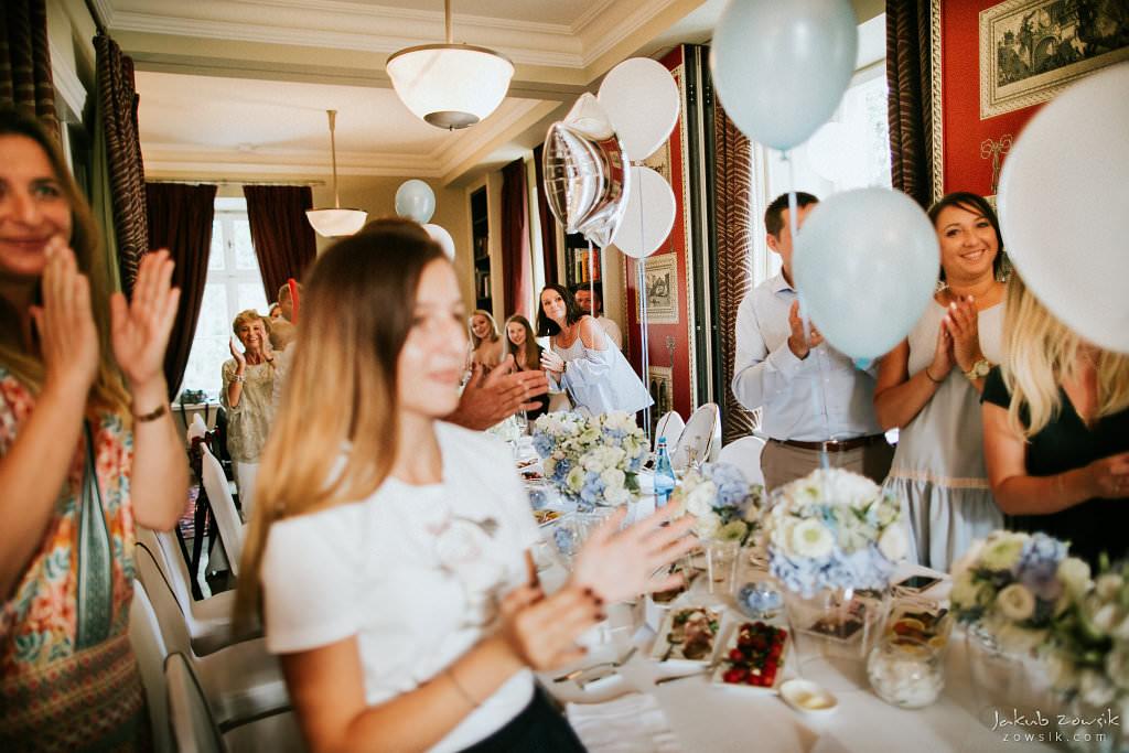 Przyjęcie z okazji 1 urodzin Milo | Amber Room | Warszawa 89