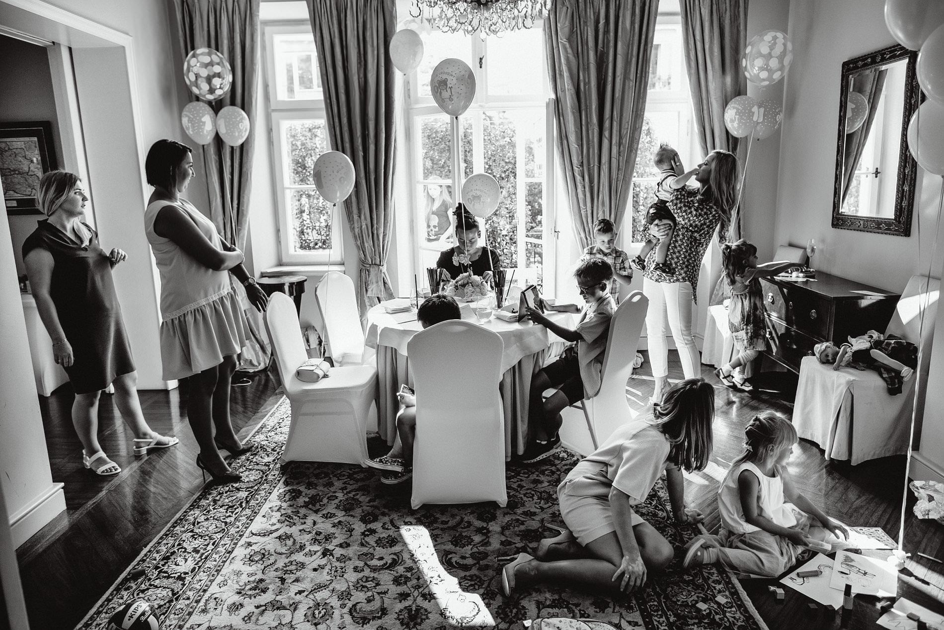 Przyjęcie z okazji 1 urodzin Milo | Amber Room | Warszawa