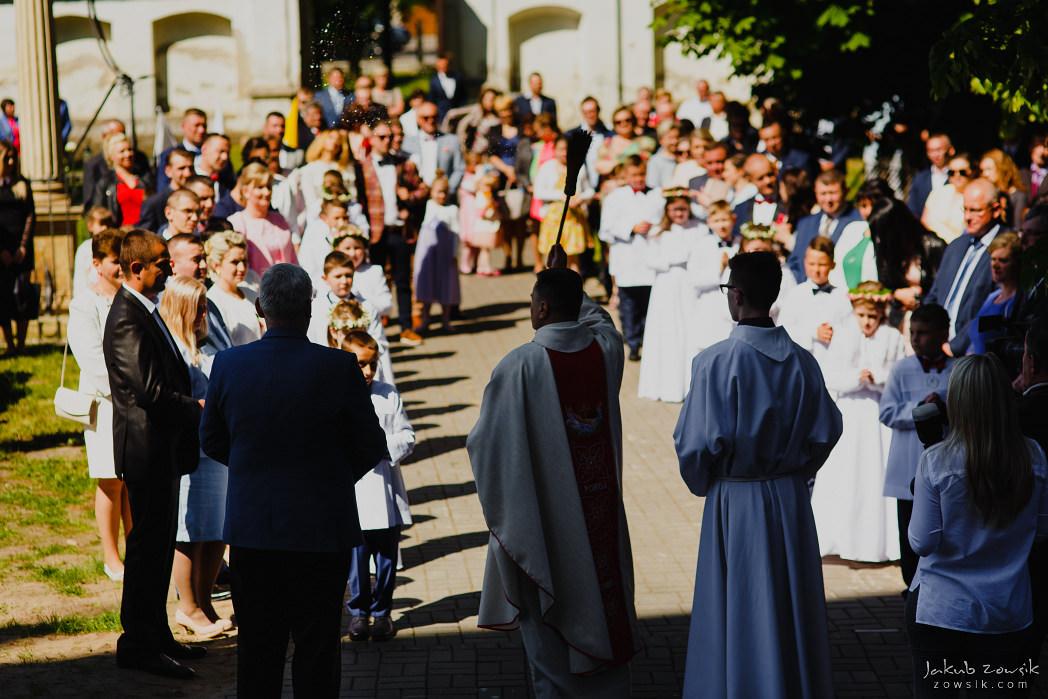 I komunia Michaliny, reportaż | Miedniewice | Nieborów 26