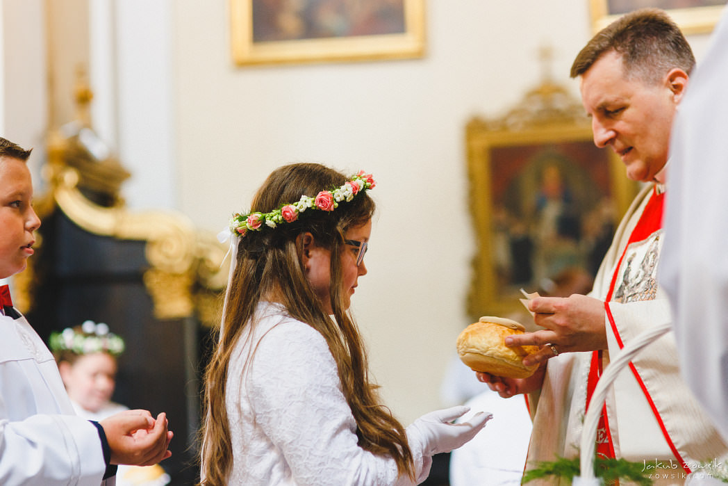 I komunia Michaliny, reportaż | Miedniewice | Nieborów 35