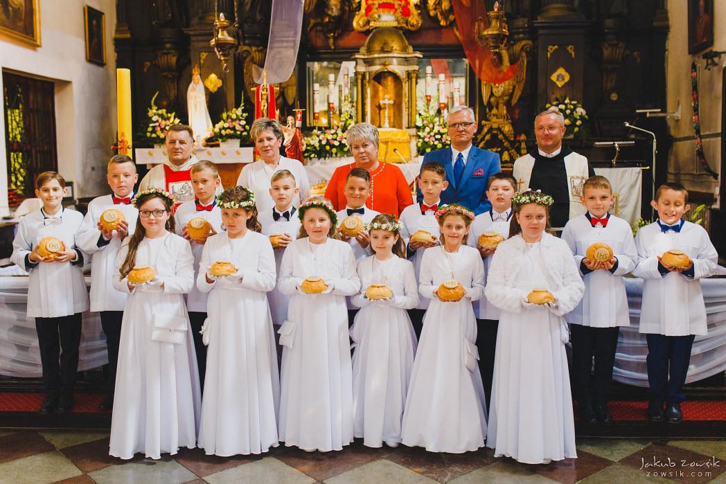 I komunia Michaliny, reportaż | Miedniewice | Nieborów 36