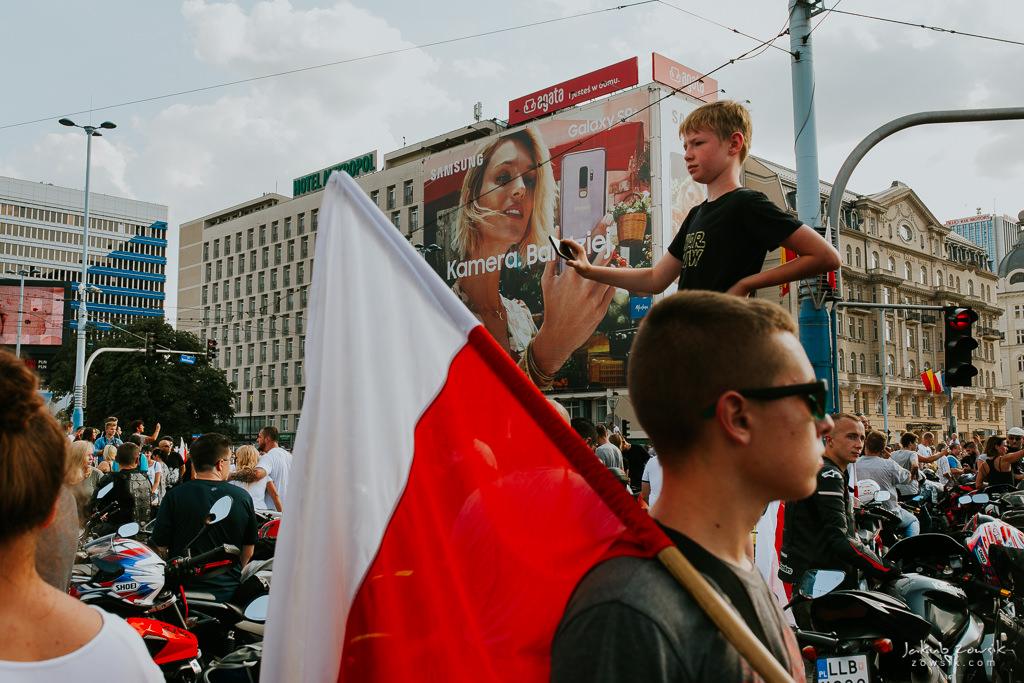 74 rocznica wybuchu Powstania Warszawskiego. Warszawa (2018) 19