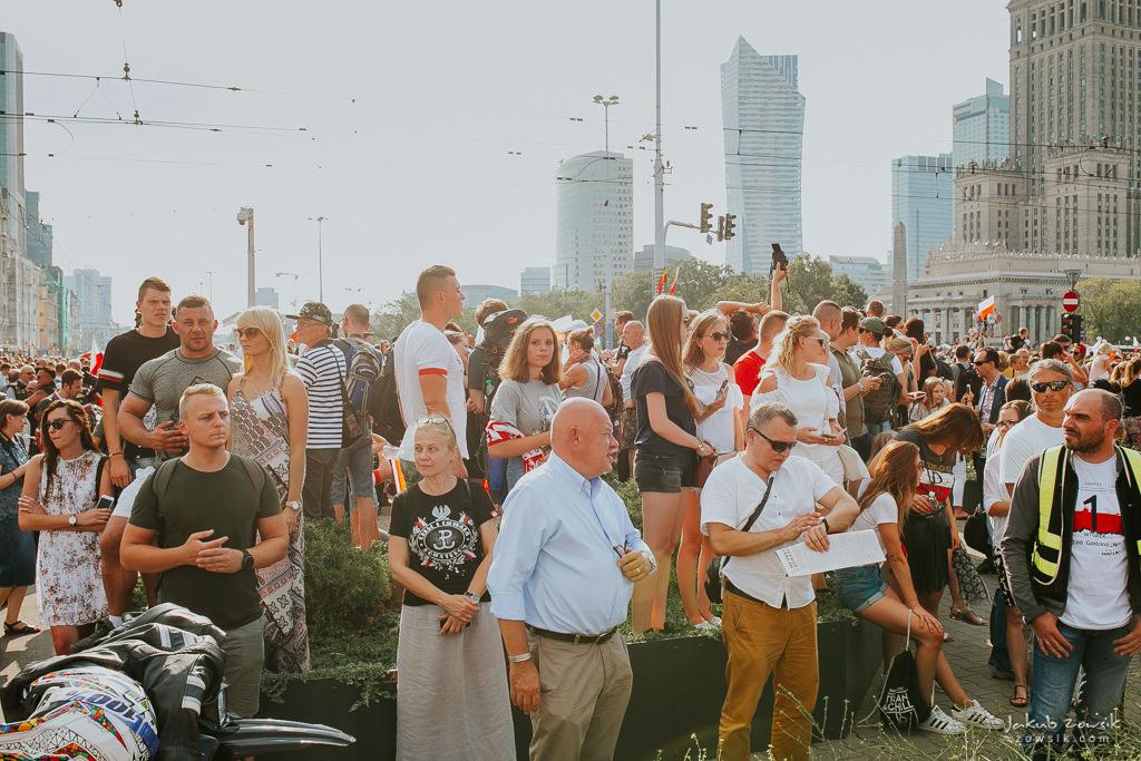 74 rocznica wybuchu Powstania Warszawskiego. Warszawa (2018) 22