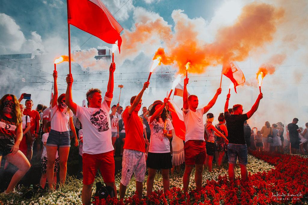 74 rocznica wybuchu Powstania Warszawskiego. Warszawa (2018) 23