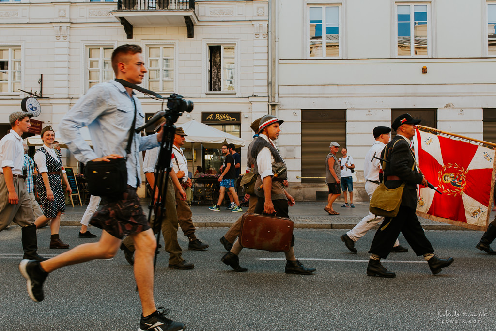 74 rocznica wybuchu Powstania Warszawskiego. Warszawa (2018) 35