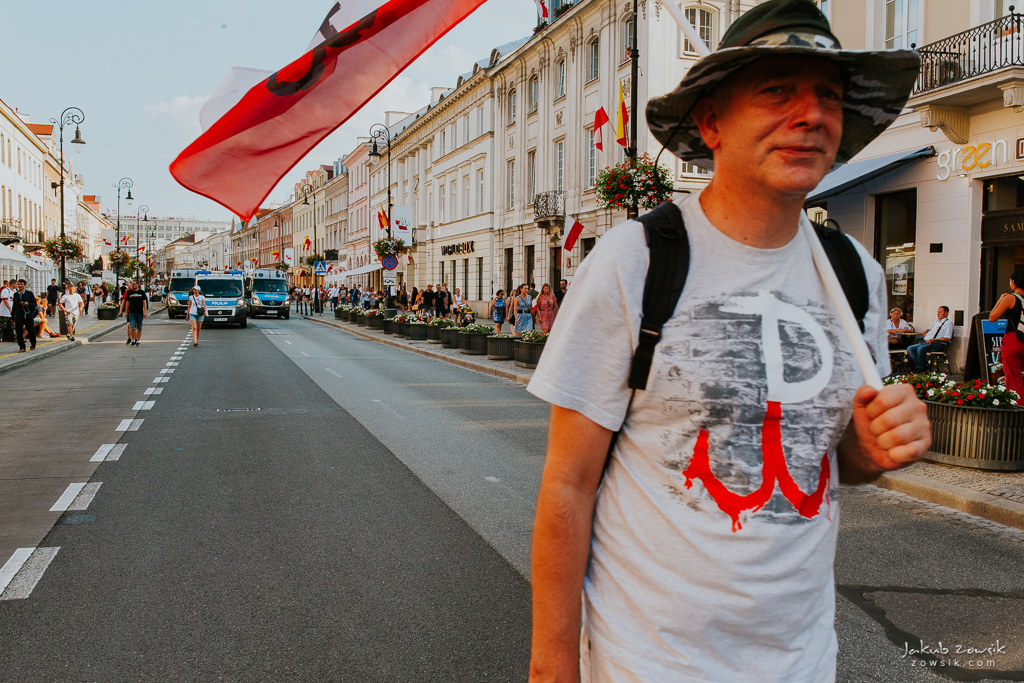 74 rocznica wybuchu Powstania Warszawskiego. Warszawa (2018) 38