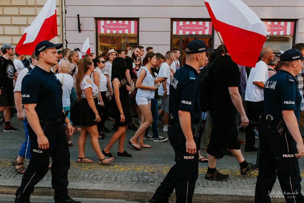 74 rocznica wybuchu Powstania Warszawskiego. Warszawa (2018) 42