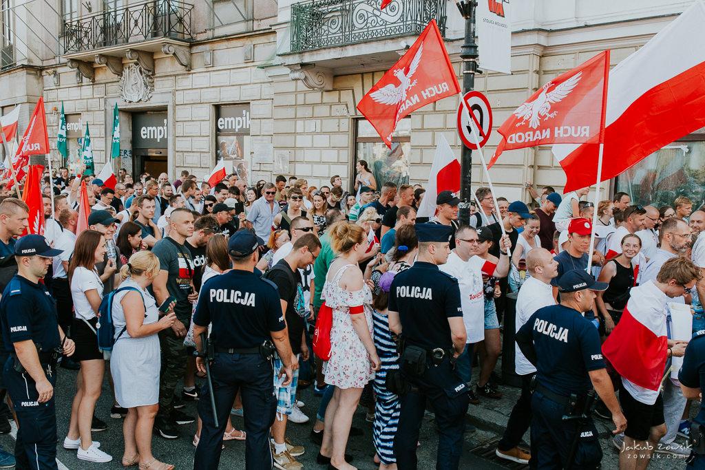 74 rocznica wybuchu Powstania Warszawskiego. Warszawa (2018) 43