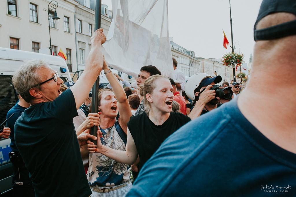 74 rocznica wybuchu Powstania Warszawskiego. Warszawa (2018) 45