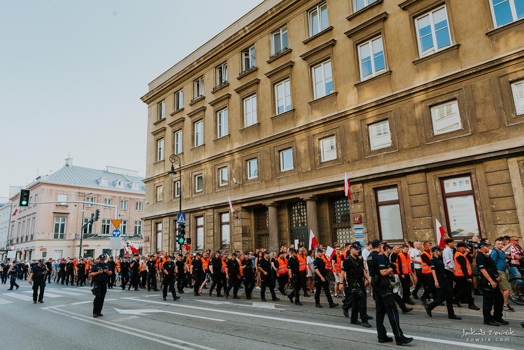 74 rocznica wybuchu Powstania Warszawskiego. Warszawa (2018) 49