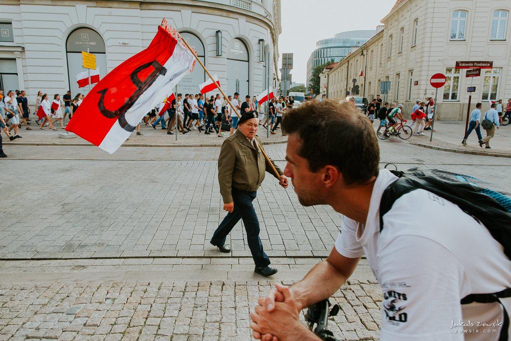 74 rocznica wybuchu Powstania Warszawskiego. Warszawa (2018) 50