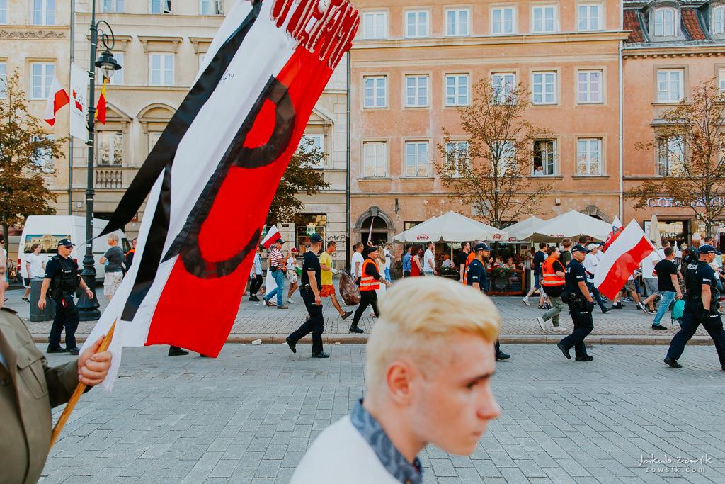74 rocznica wybuchu Powstania Warszawskiego. Warszawa (2018) 55