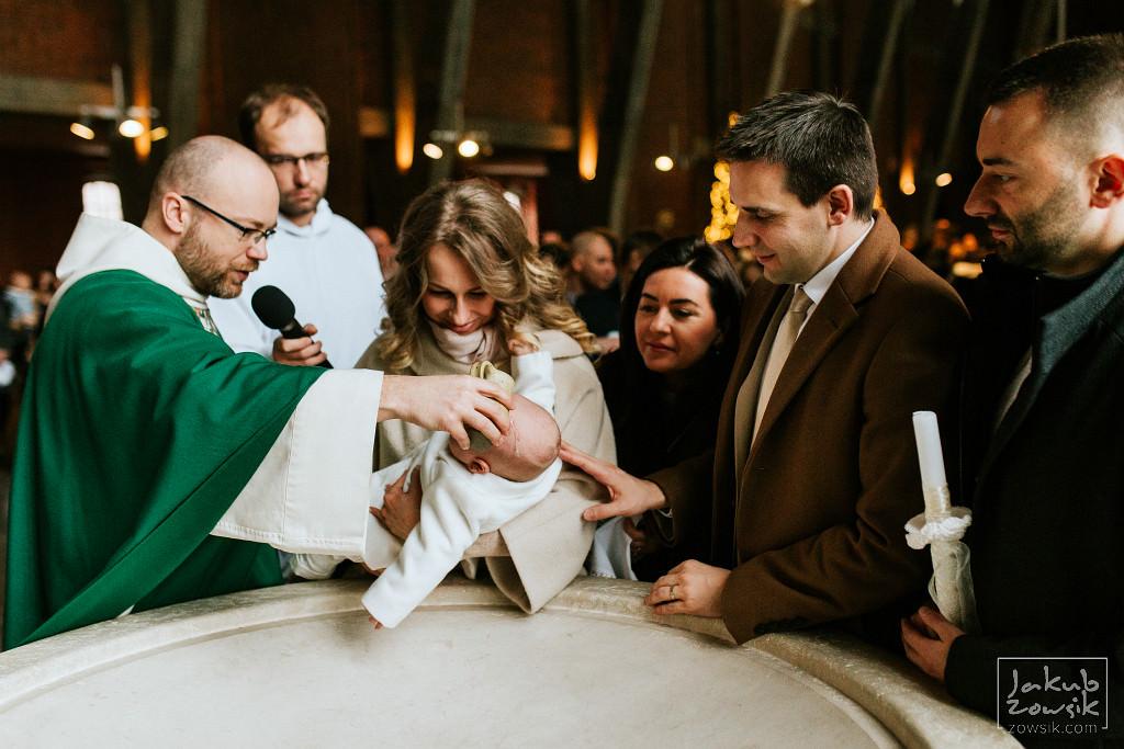 Franek | Reportaż z chrzcin | Warszawa, u Dominikanów 47