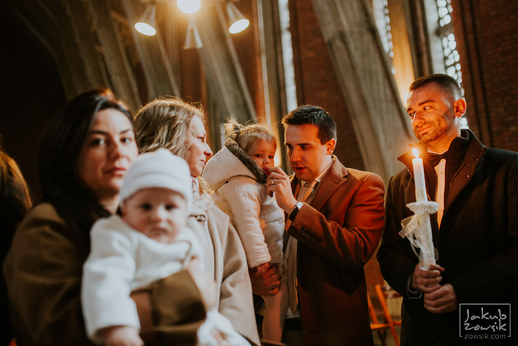 Franek | Reportaż z chrzcin | Warszawa, u Dominikanów 56
